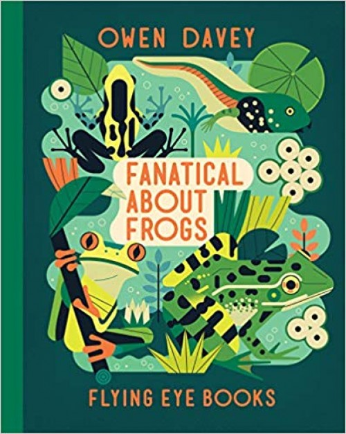 A Literary Leaf for Fanatical About Frogs