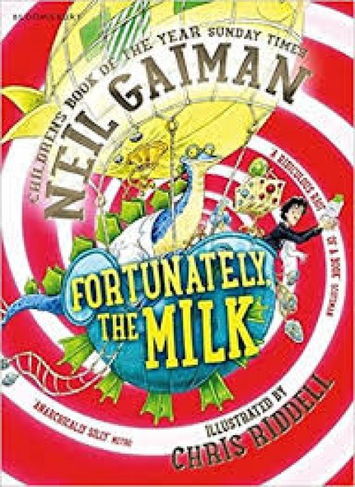 A Literary Leaf for Fortunately the Milk