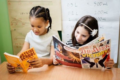 Beyond the Book Corner: Setting up a Literary Classroom
