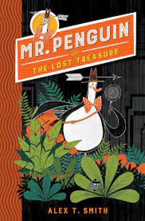 A Literary Leaf for Mr Penguin and the Lost Treasure